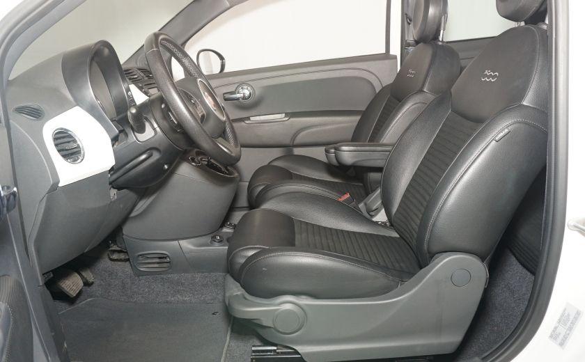 2015 Fiat 500 Sport AUTO GR ÉLECTRIQUE #16