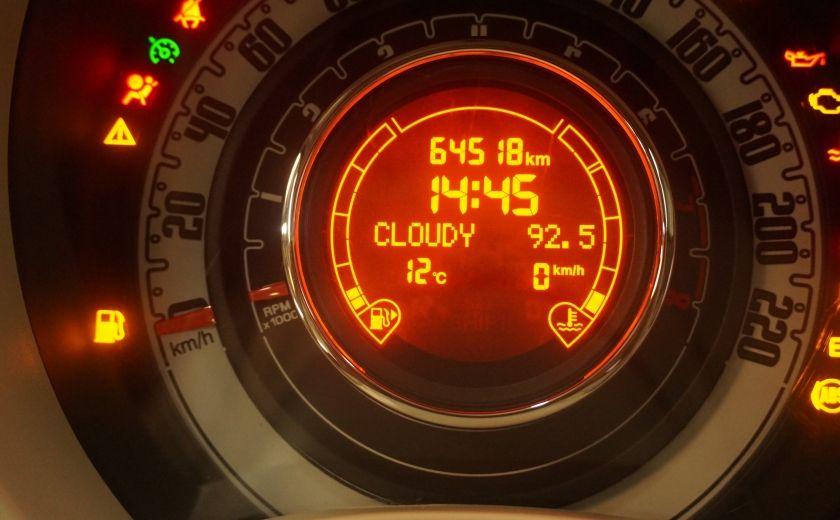 2012 Fiat 500 Pop TOIT ÉLECTRIQUE #7