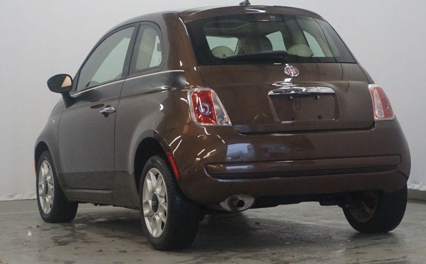 2012 Fiat 500 Pop TOIT ÉLECTRIQUE #6