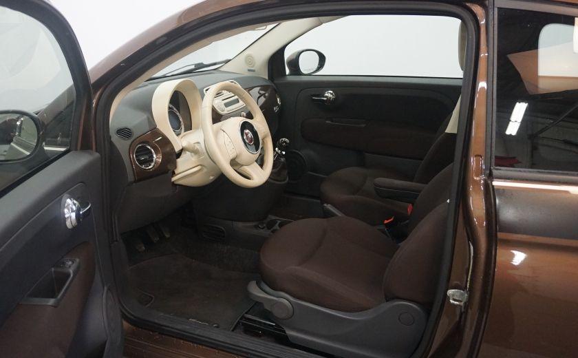 2012 Fiat 500 Pop TOIT ÉLECTRIQUE #5