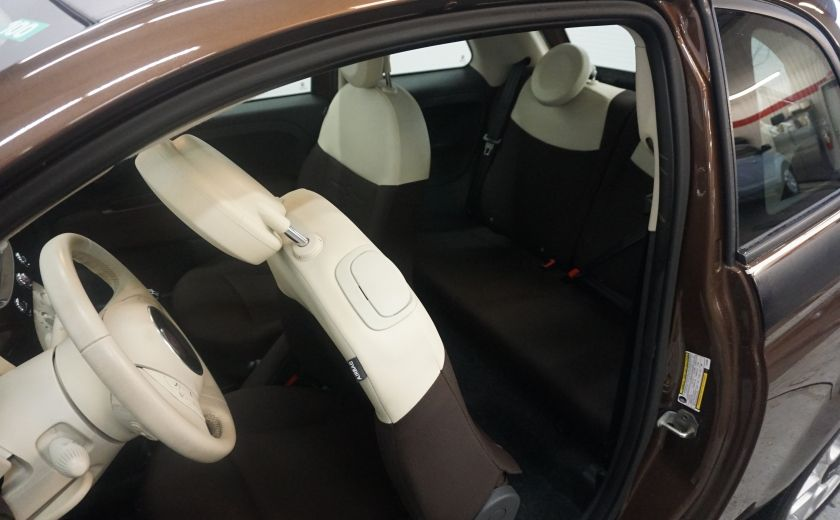 2012 Fiat 500 Pop TOIT ÉLECTRIQUE #11