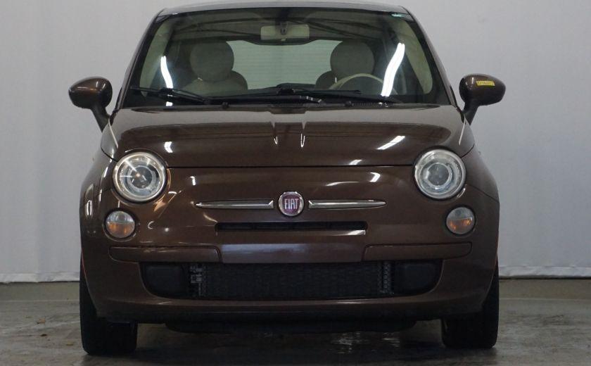 2012 Fiat 500 Pop TOIT ÉLECTRIQUE #2