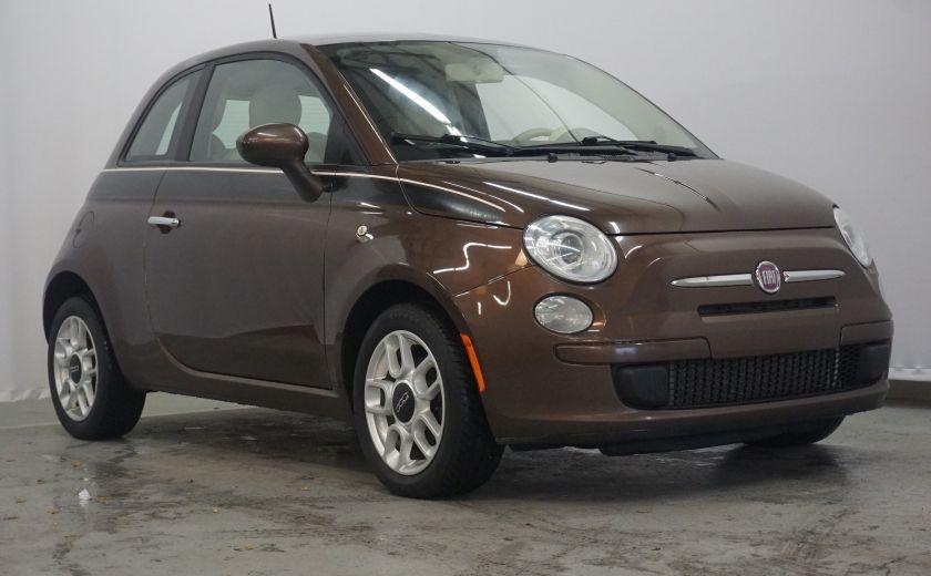 2012 Fiat 500 Pop TOIT ÉLECTRIQUE #0