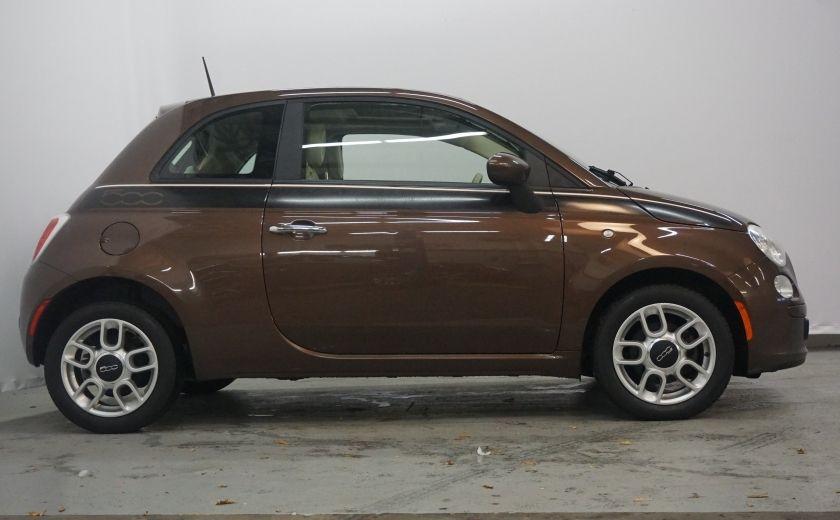 2012 Fiat 500 Pop TOIT ÉLECTRIQUE #4
