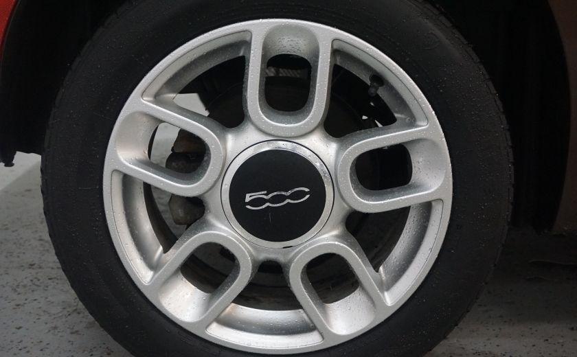2012 Fiat 500 Pop TOIT ÉLECTRIQUE #16