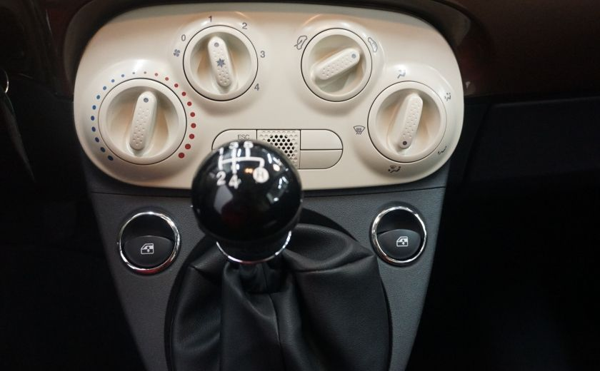 2012 Fiat 500 Pop TOIT ÉLECTRIQUE #14