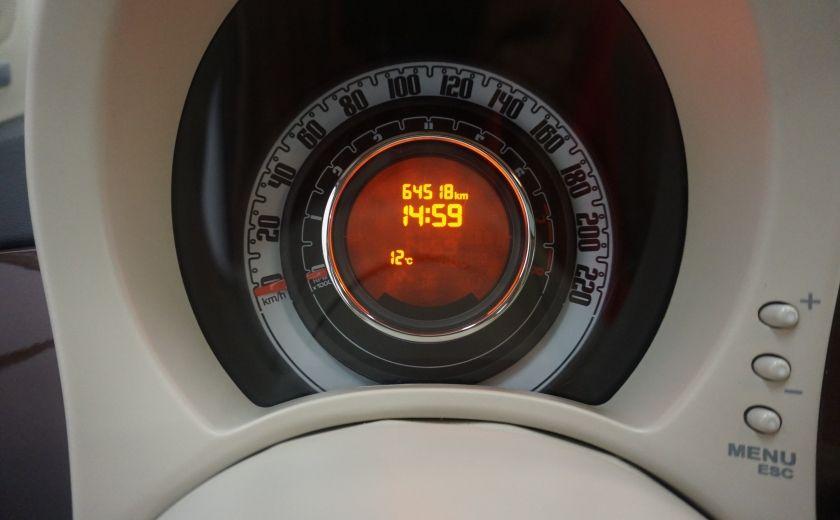2012 Fiat 500 Pop TOIT ÉLECTRIQUE #17