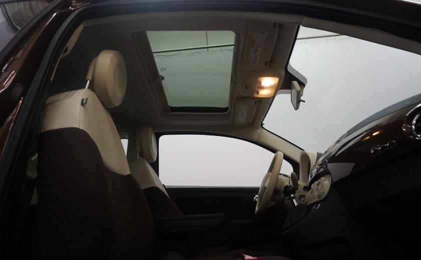 2012 Fiat 500 Pop TOIT ÉLECTRIQUE #8