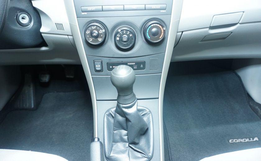 2012 Toyota Corolla CE manuel mirroirs chauffants #19