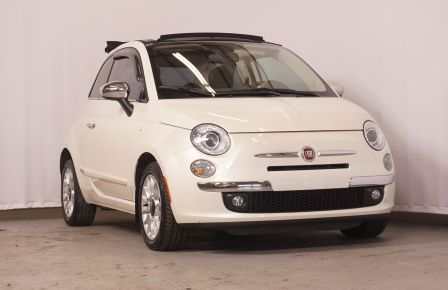2012 Fiat 500 Lounge CABRIO AUTOMATIQUE à New Richmond