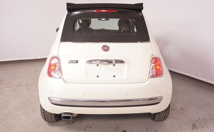 2012 Fiat 500 Lounge #4