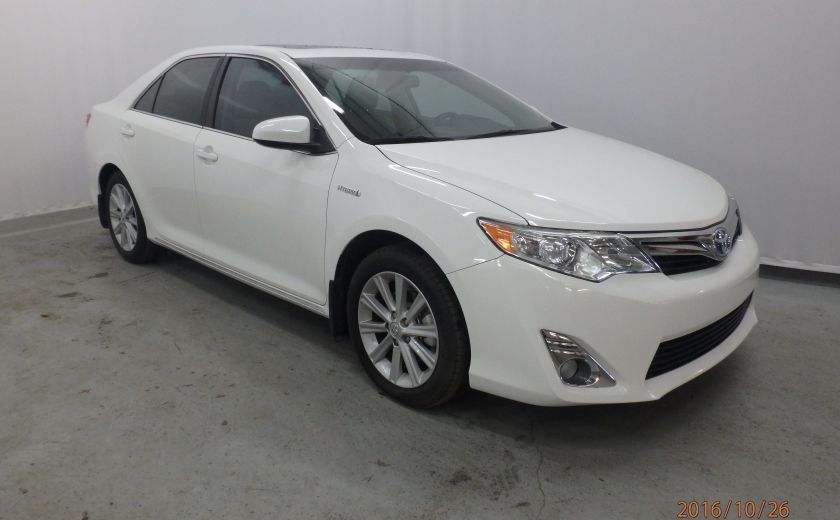 2013 Toyota Camry XLE #0