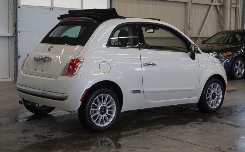 2014 Fiat 500c Lounge Cabriolet (sonar-cuir) #6