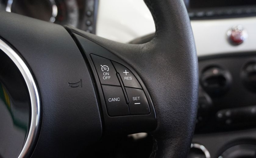 2014 Fiat 500c Lounge Cabriolet (sonar-cuir) #11