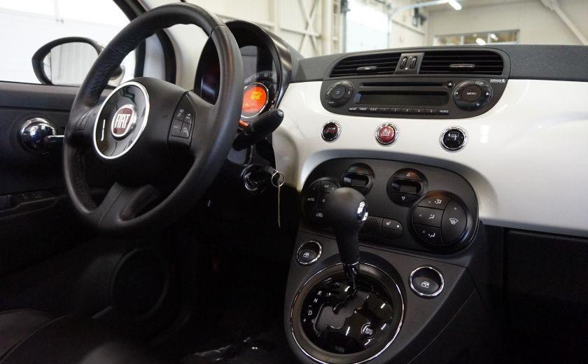 2014 Fiat 500c Lounge Cabriolet (sonar-cuir) #26