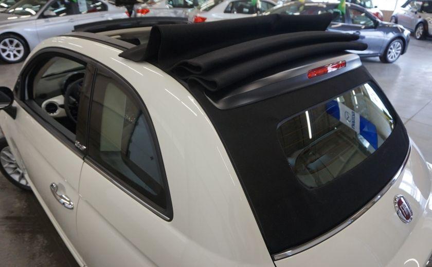 2014 Fiat 500c Lounge Cabriolet (sonar-cuir) #29