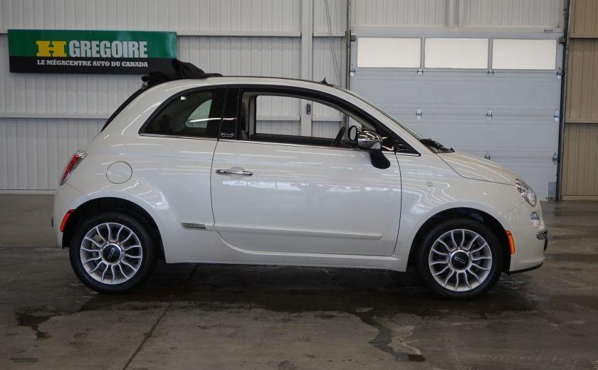 2014 Fiat 500c Lounge Cabriolet (sonar-cuir) #7