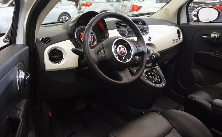 2014 Fiat 500c Lounge Cabriolet (sonar-cuir) #8