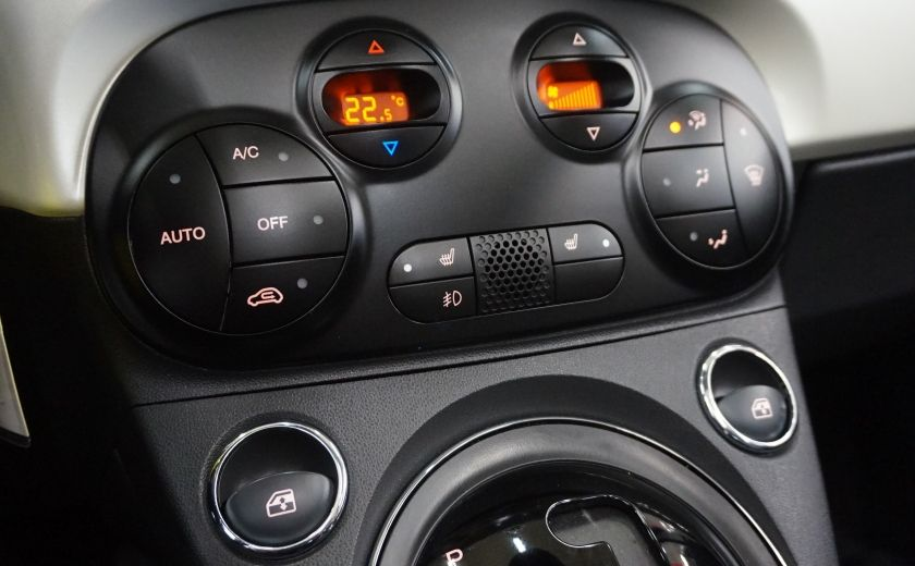 2014 Fiat 500c Lounge Cabriolet (sonar-cuir) #14