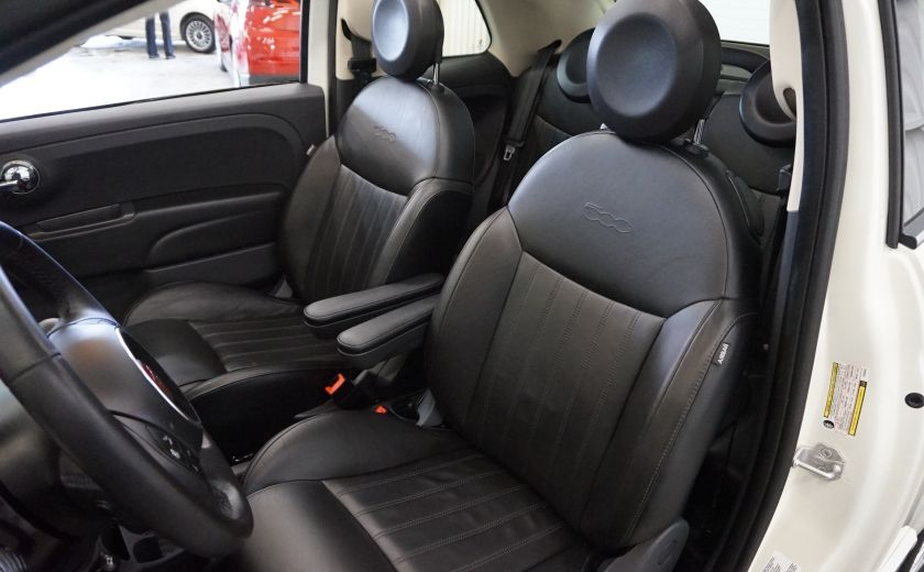 2014 Fiat 500c Lounge Cabriolet (sonar-cuir) #18