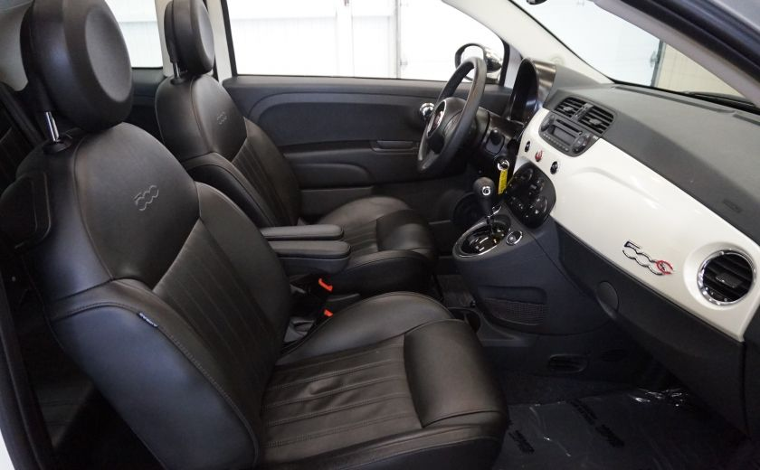 2014 Fiat 500c Lounge Cabriolet (sonar-cuir) #24