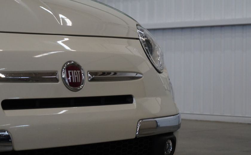2014 Fiat 500c Lounge Cabriolet (sonar-cuir) #27