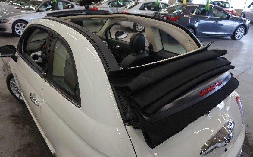 2014 Fiat 500c Lounge Cabriolet (sonar-cuir) #28