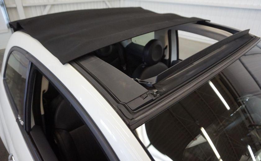 2014 Fiat 500c Lounge Cabriolet (sonar-cuir) #30
