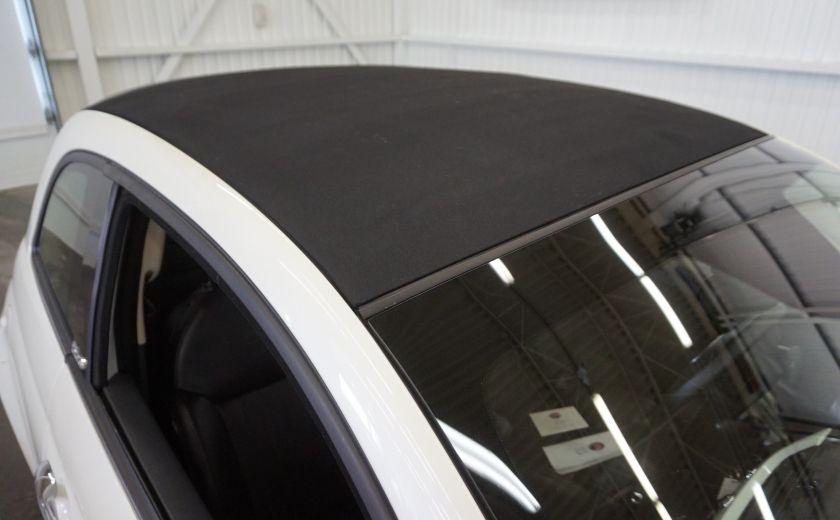 2014 Fiat 500c Lounge Cabriolet (sonar-cuir) #31