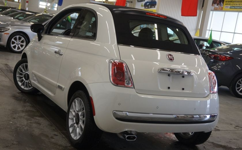 2014 Fiat 500c Lounge Cabriolet (sonar-cuir) #33