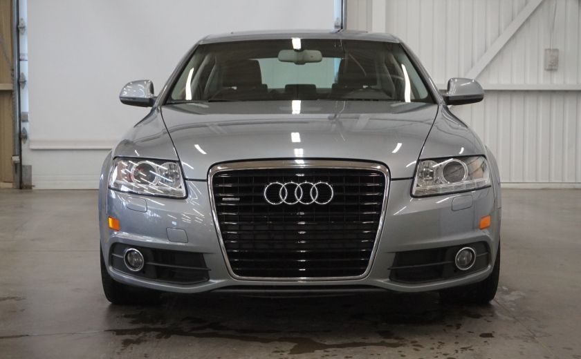 2011 Audi A6 S-LINE Quattro (cuir-toit-navi-caméra) #1