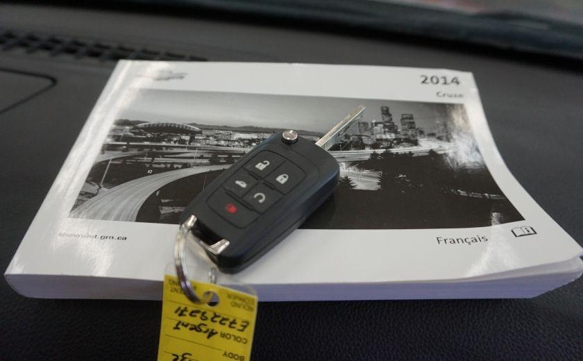 2014 Chevrolet Cruze LT 1.4L Turbo (caméra de recul) #27
