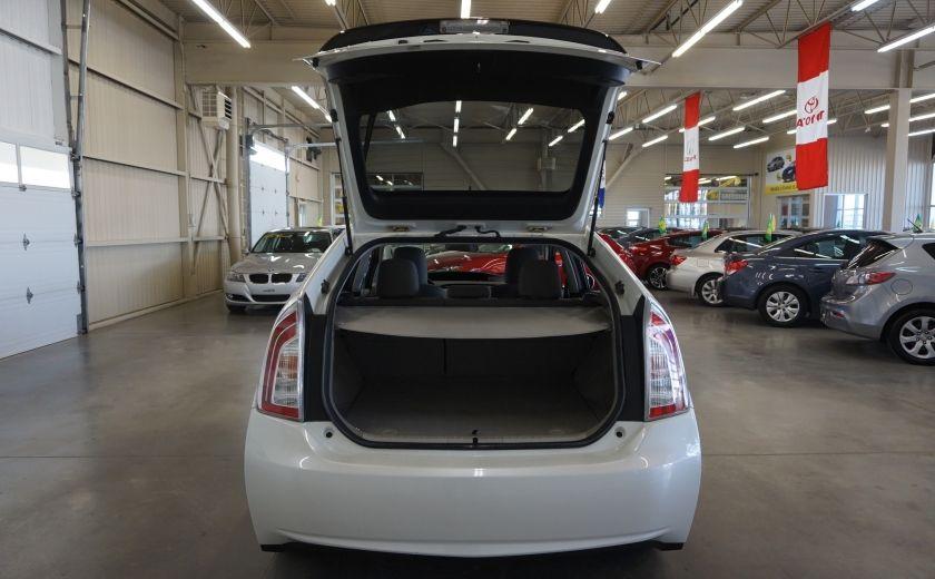 2012 Toyota Prius Hybrid (caméra de recul) #24