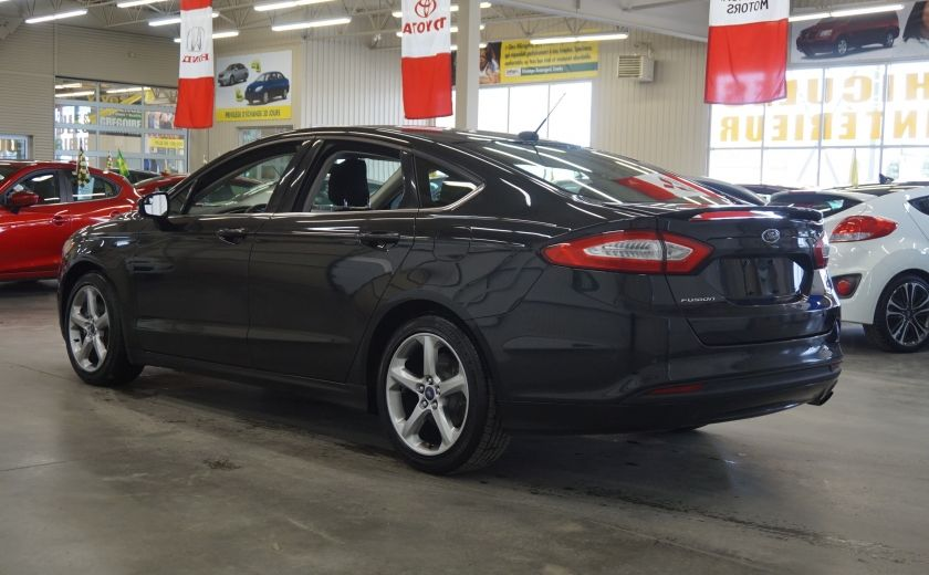 2014 Ford Fusion SE (toit ouvrant-sonar) #4