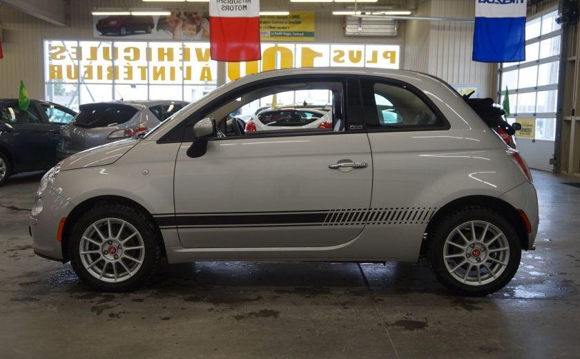 2013 Fiat 500 C Cabriolet (sonar de recul) #3
