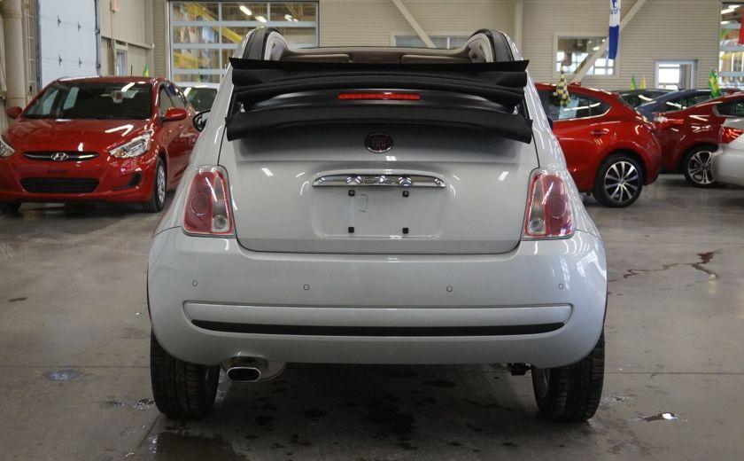 2013 Fiat 500 C Cabriolet (sonar de recul) #5