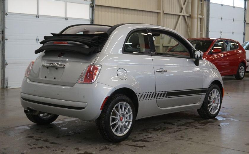 2013 Fiat 500 C Cabriolet (sonar de recul) #6