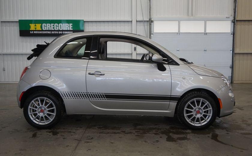 2013 Fiat 500 C Cabriolet (sonar de recul) #7