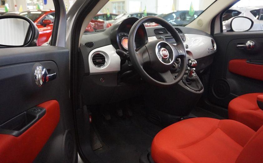 2013 Fiat 500 C Cabriolet (sonar de recul) #8