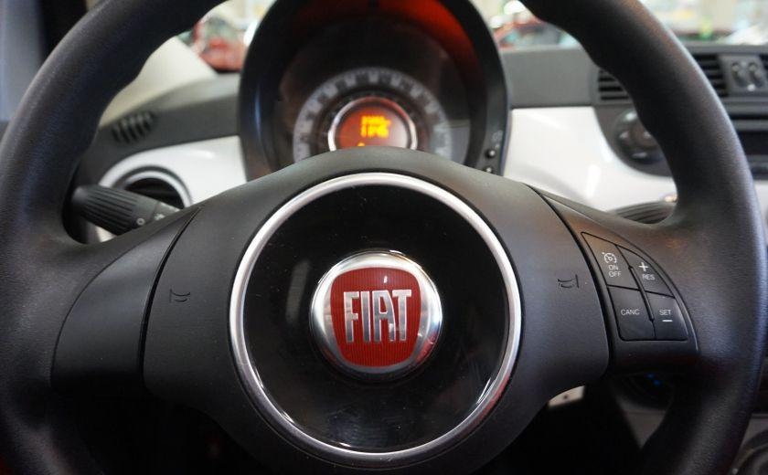 2013 Fiat 500 C Cabriolet (sonar de recul) #9