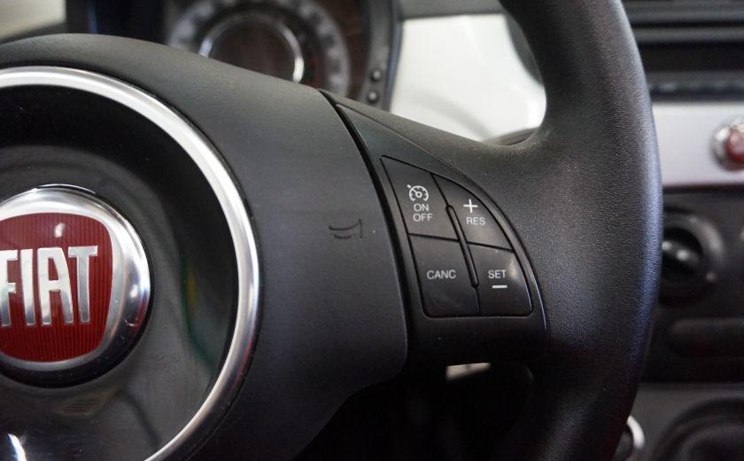 2013 Fiat 500 C Cabriolet (sonar de recul) #10
