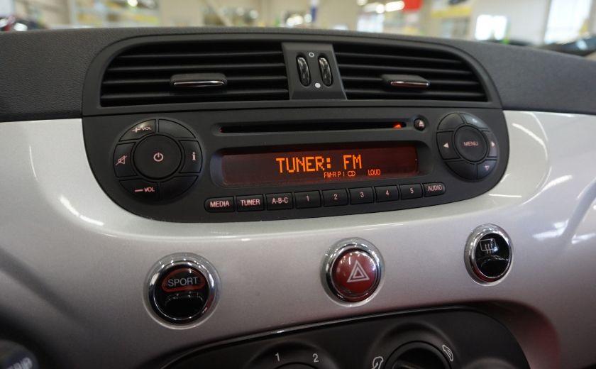 2013 Fiat 500 C Cabriolet (sonar de recul) #12