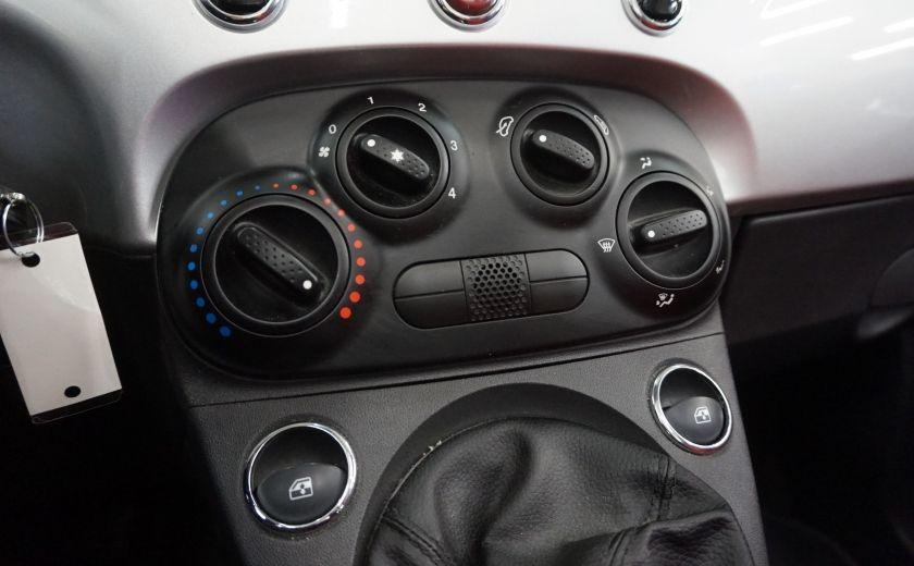 2013 Fiat 500 C Cabriolet (sonar de recul) #13