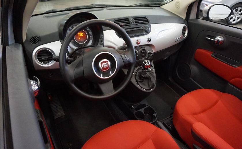 2013 Fiat 500 C Cabriolet (sonar de recul) #16