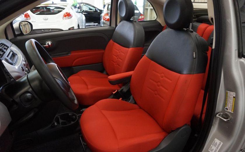 2013 Fiat 500 C Cabriolet (sonar de recul) #17