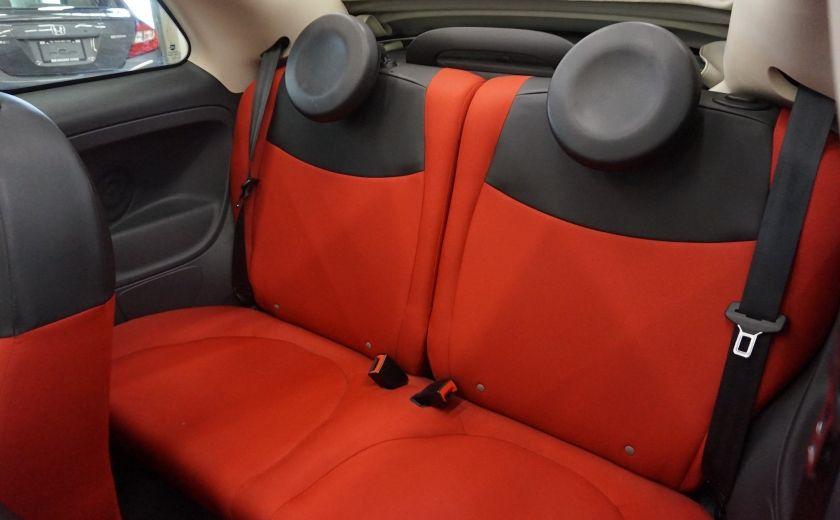 2013 Fiat 500 C Cabriolet (sonar de recul) #18