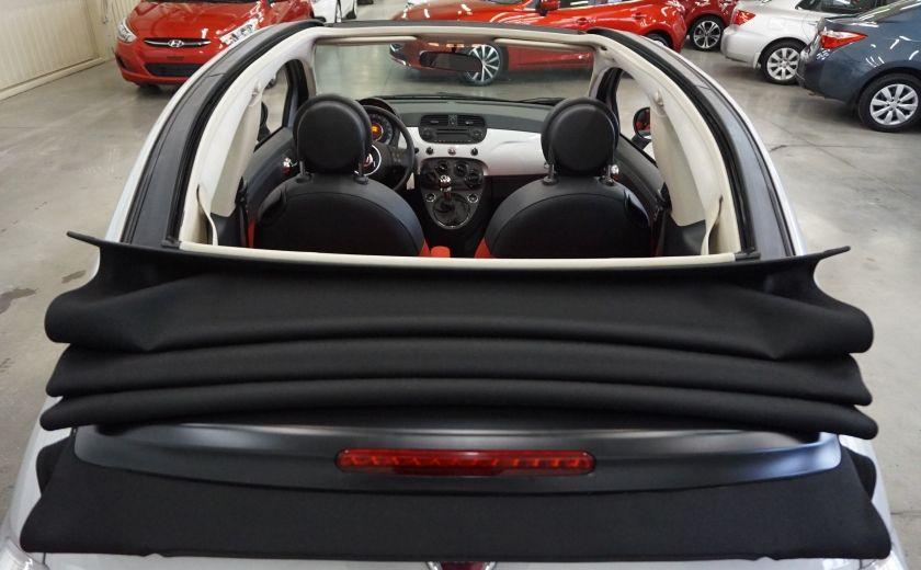 2013 Fiat 500 C Cabriolet (sonar de recul) #19