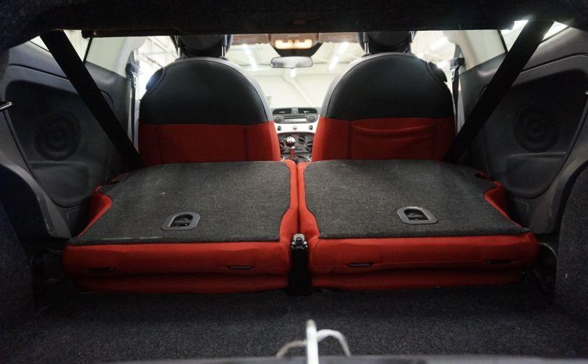 2013 Fiat 500 C Cabriolet (sonar de recul) #23