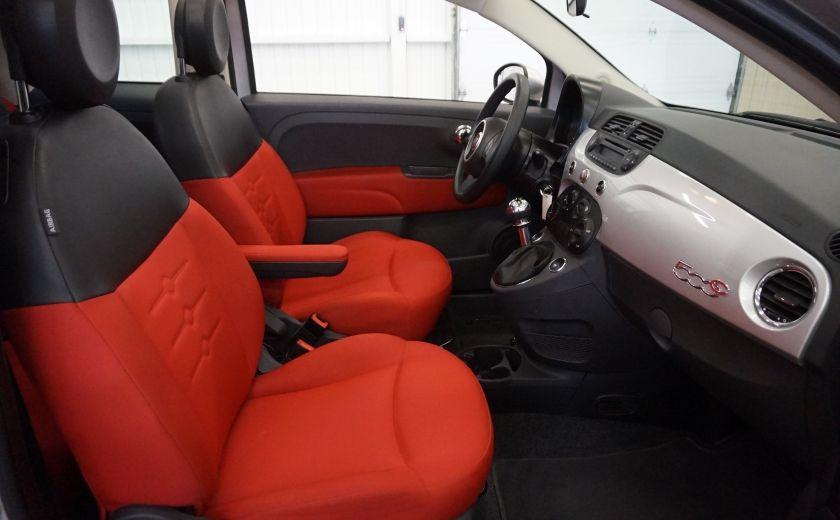 2013 Fiat 500 C Cabriolet (sonar de recul) #25