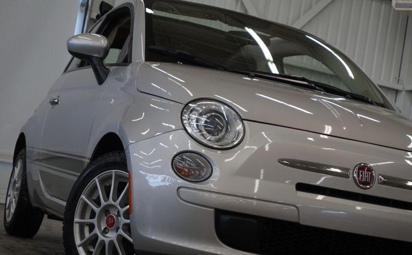 2013 Fiat 500 C Cabriolet (sonar de recul) #29
